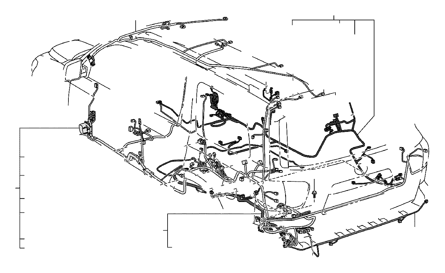 Toyota Tundra Connector Wiring Harness Engine Seat