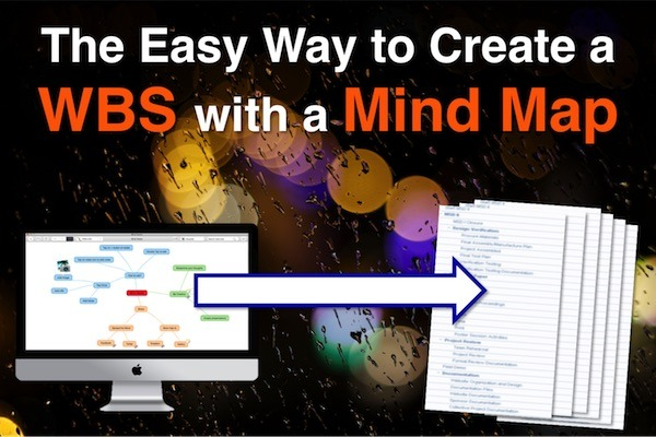 Blog - Create a WBS with a Mind Map