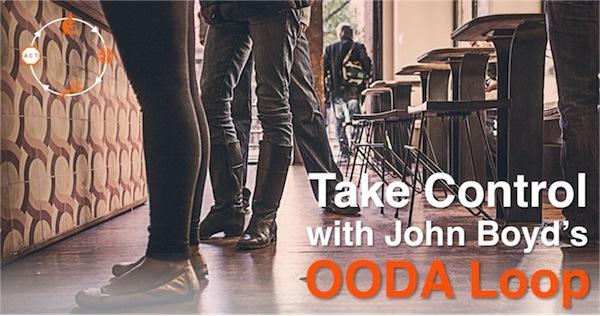 Take Control with John Boyds OODA Loop
