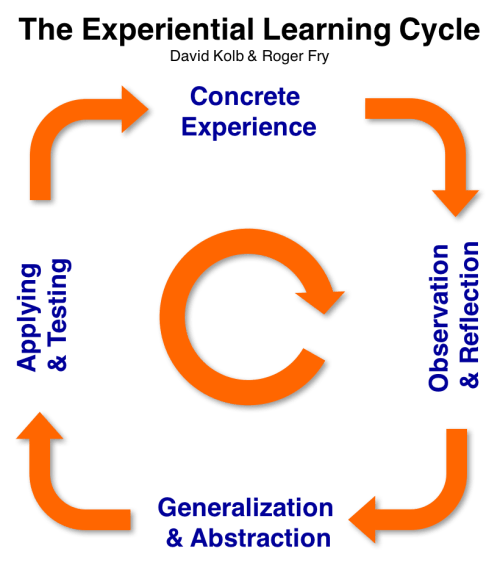 David Kolb - Experiential Learning Cycle - to maximize your Project Management Learning