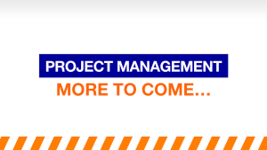 Free Project Management Resources: More to come