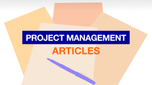 Free Project Management Resources: Project Management Articles