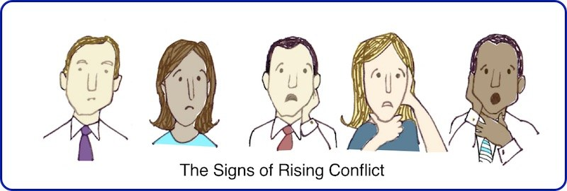 The Signs of Rising Conflict