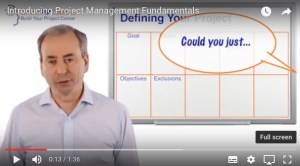 Project Definition Video