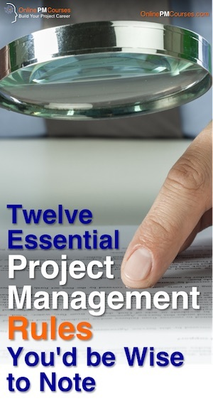 12 Essential Project Management Rules
