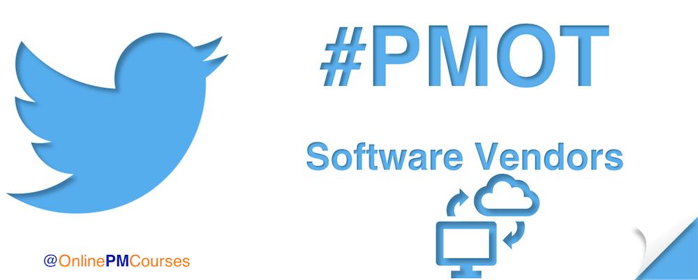 #PMOT Software Vendors