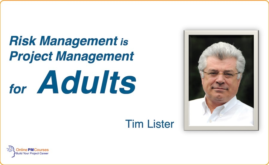 Risk Management - Tim Lister