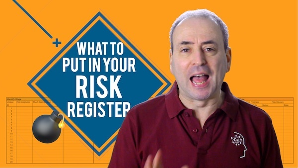 What to Put in Your Risk Register
