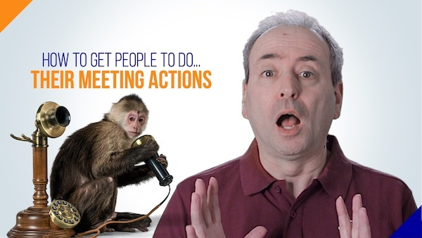 How to get people to do their meeting actions