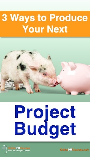 3 Ways to Produce Your Next Project Budget