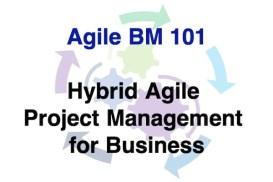 Agile BM101 - Hybrid Agile PM for Business 600