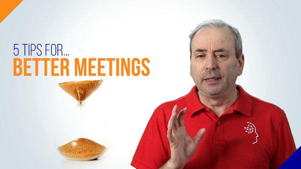 5 Tips for Better Meetings | Video