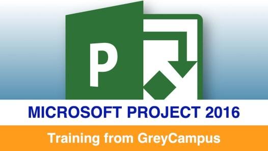 GreyCampus Microsoft Project 2016