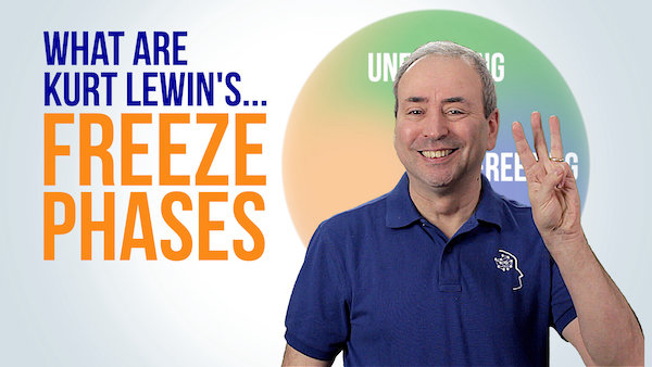 What are Kurt Lewin's Freeze Phases? | Video