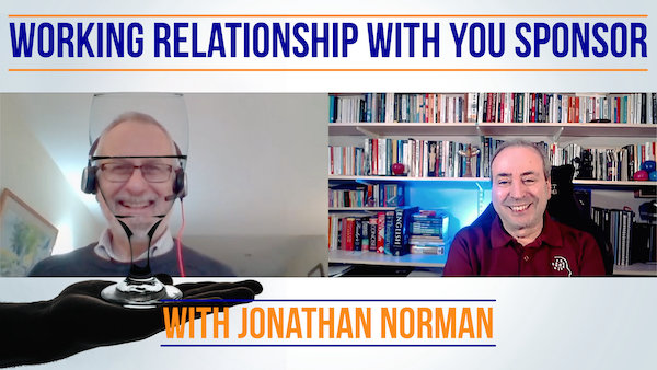 Building a Working Relationship with Your Project Sponsor - With Jonathan Norman | Video