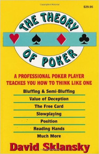 The Theory of Poker - Top 5 Poker Books
