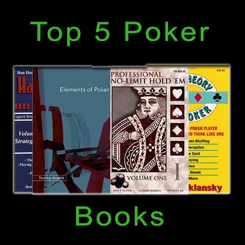 Top 5 Poker Books