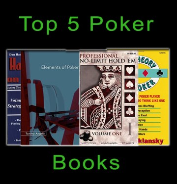 Top 5 Poker Books