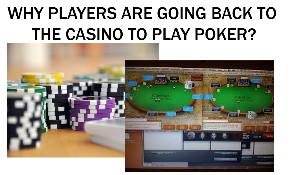 6 Reasons to Play Poker in a Casino and Not Online