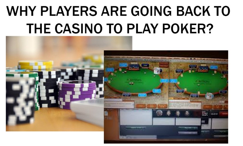 Reasons to Play Poker in a Casino and Not Online