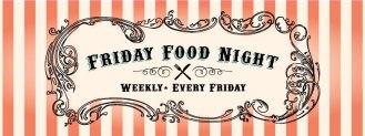 Weekly Family Food Night involving local restaurants