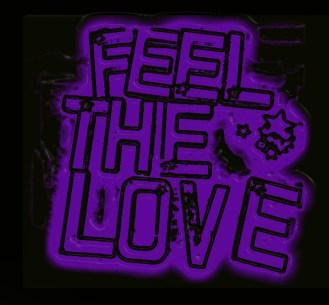 feel the love purple