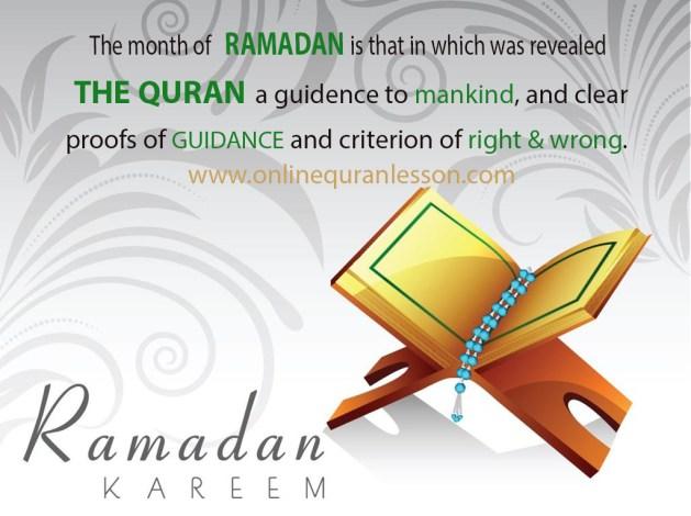 Month of Ramdan