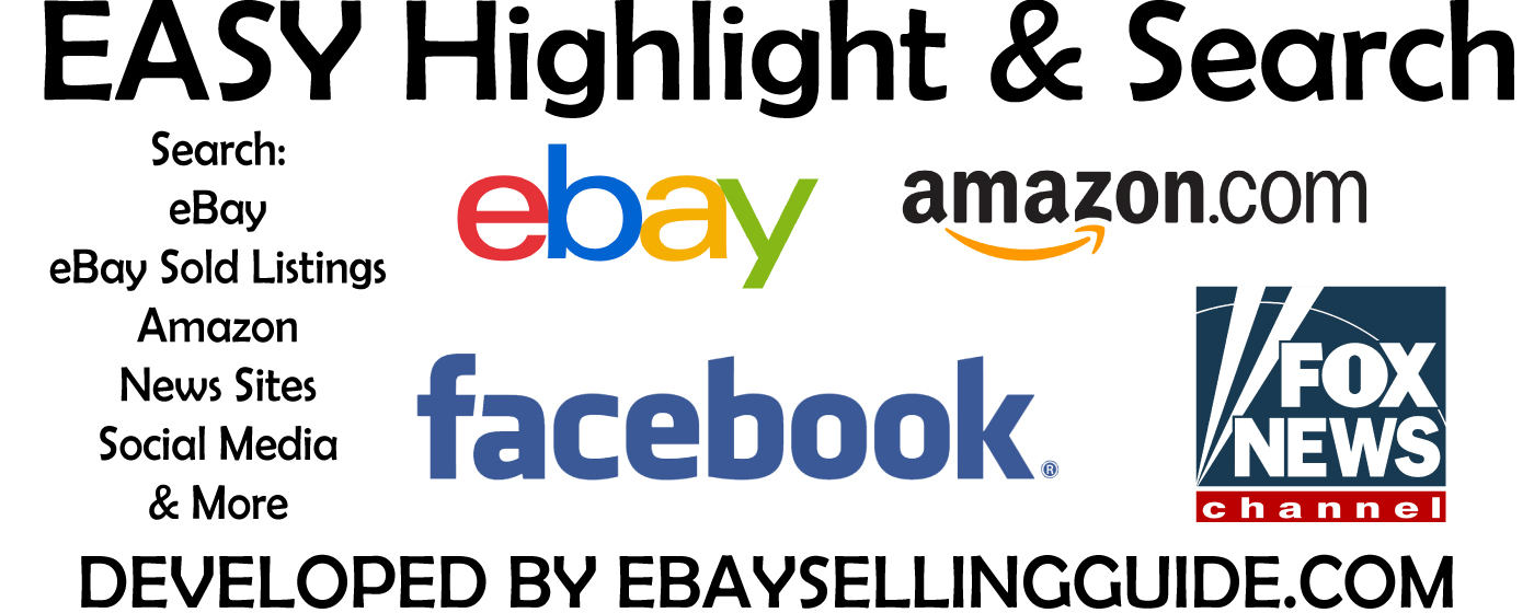 Free Ebay And Amazon Research Chrome Extension