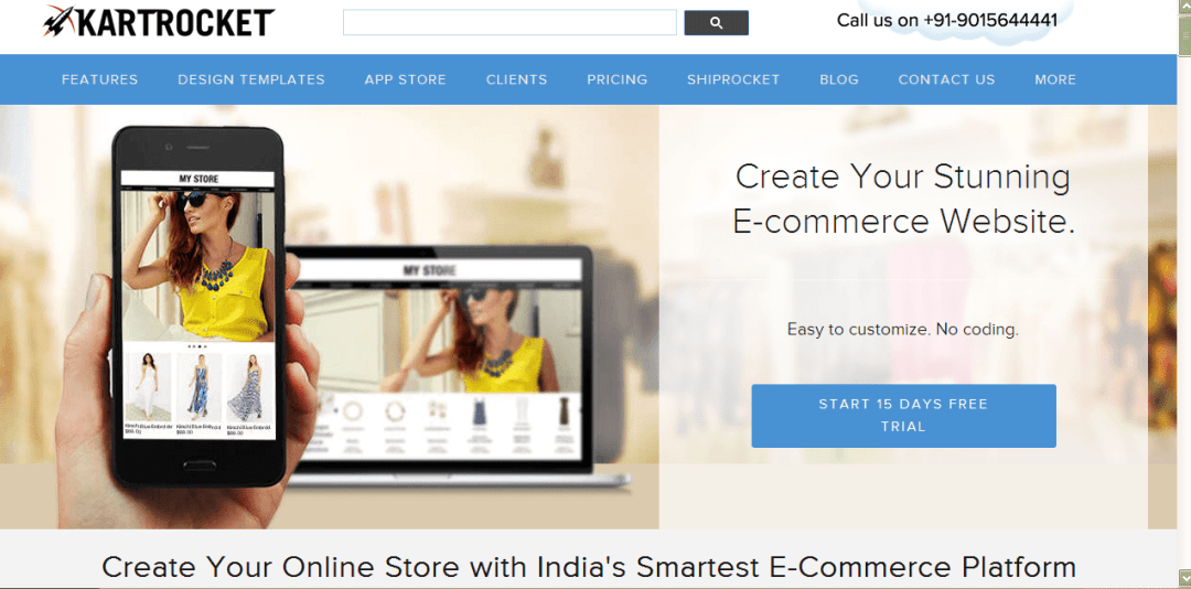 create online store in India