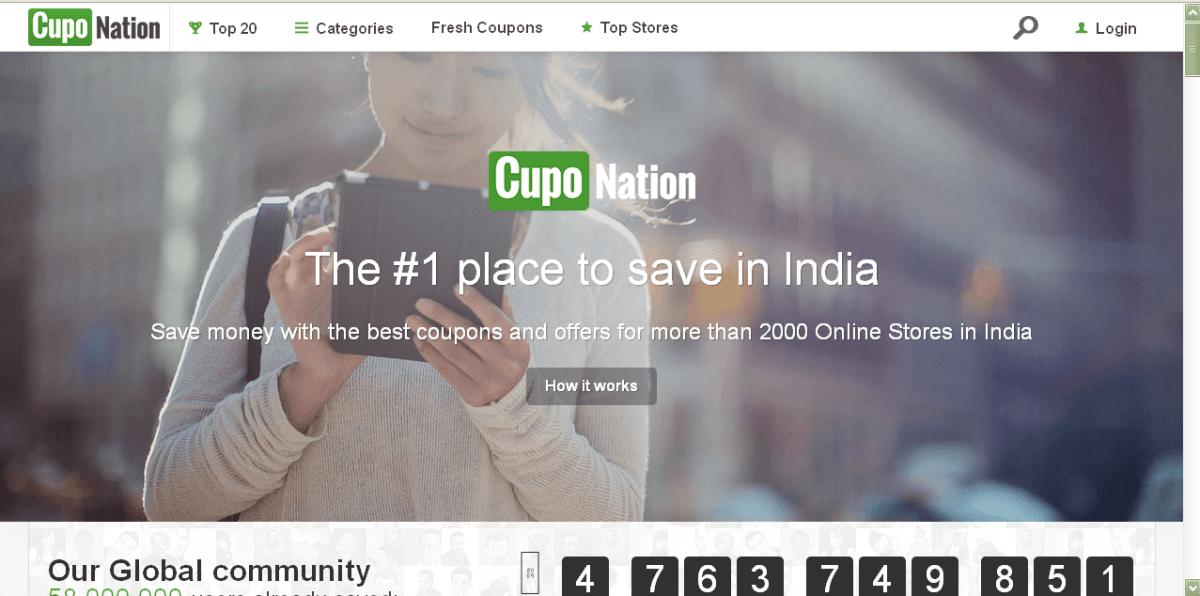 Cupon sites in India