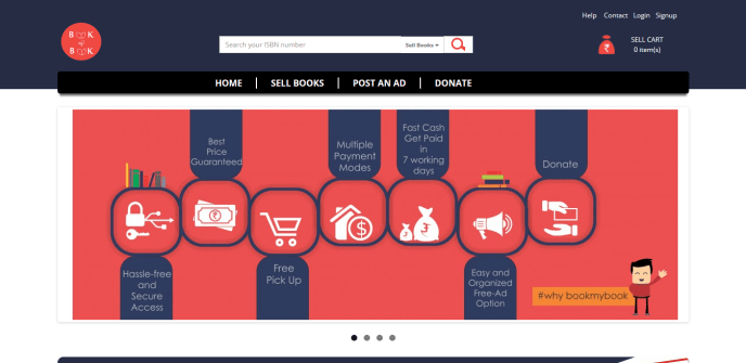 buy, sell used books online in india