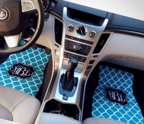 christmas gifts parents monogrammed floor mats