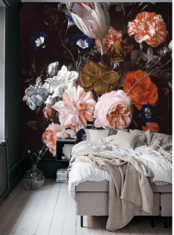 floral removable wallpaper mural