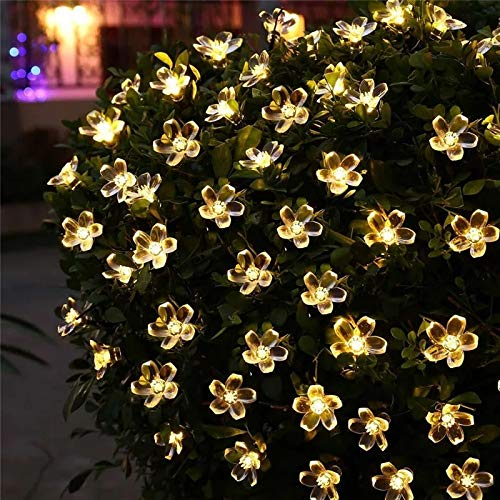 The Purple Tree Flower LED String Light for Diwali - Made in India
