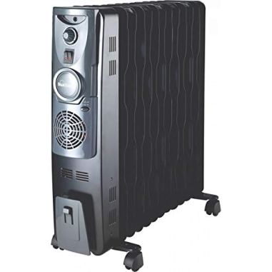 Sunflame 13 Fin Oil Filled Radiator Heater with Fan