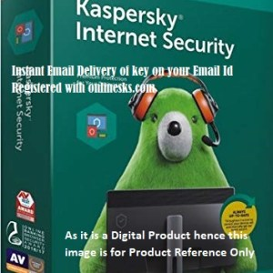 Kaspersky Internet Security 1 PC 3 Year Latest Version ( Instant Email Delivery of Key ) No CD Only Key