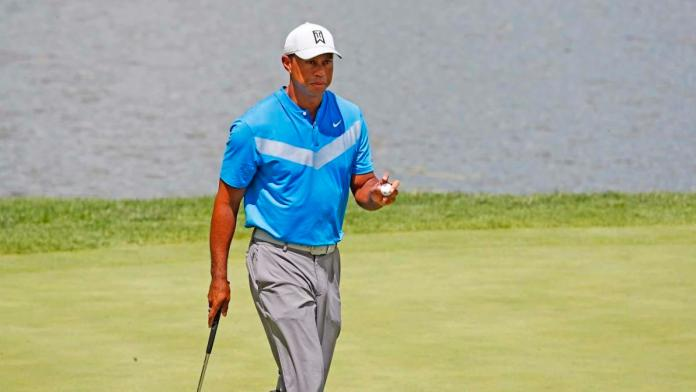 BMW Championship 2019 – Tiger Woods off to a poor start