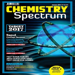 Chemistry Spectrum January 2017 Edition for JEE Mains and Advanced Examination (PDF)