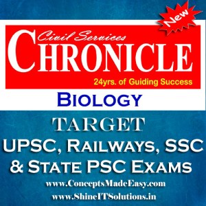 Biology - Chronicle IAS Academy Study Material for UPSC Railways SSC and State PSC Examination (in PDF)