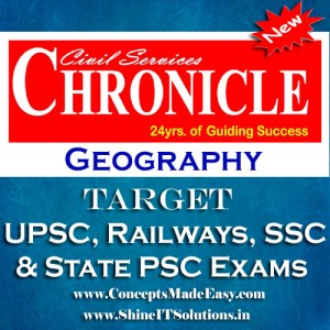 Geography - Chronicle IAS Academy Study Material for UPSC Railways SSC and State PSC Examination (in PDF)