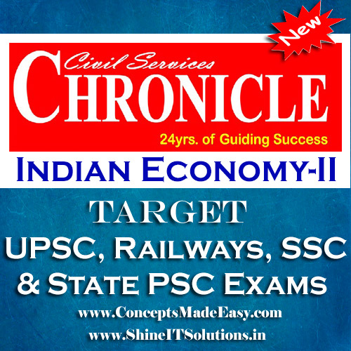 Indian Economy (Part-II) - Chronicle IAS Academy Study Material for UPSC Railways SSC and State PSC Examination (in PDF)