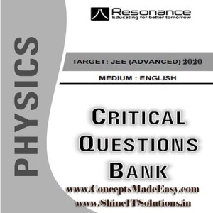 Physics Critical Question Bank Specially for JEE Mains and Advanced Examination in PDF