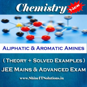 Aliphatic and Aromatic Amines - Chemistry Best Kota Study Material for JEE Mains and Advanced Examination (in PDF)