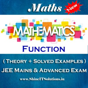 Function - Mathematics Best Kota Study Material for JEE Mains and Advanced Examination (in PDF)