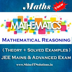 Mathematical Reasoning - Mathematics Best Kota Study Material for JEE Mains and Advanced Examination (in PDF)