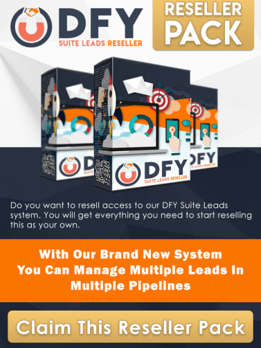 DFY Suite Leads reseller pack