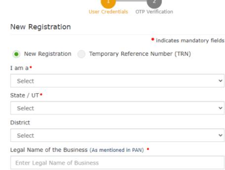 Online GST Registration Process 2021