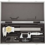Brown-Sharpe-TESA-0530021-4-Piece-Measuring-Set-with-Micrometer-Dial-Calipers-Depth-Measuring-Base-and-Storage-Case-0-0