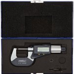 Fowler-54-866-001-Quadramic-Electronic-4-way-Reading-Micrometer-0-10-25mm-Measuring-Range-0000050001mm-Resolution-RS-232-Output-0-1