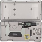 Fowler-54-870-003-Xtra-Value-II-Electronic-Micrometer-with-Grey-Enamel-Finish-2-350-75mm-Measuring-Range-0000050001mm-Resolution-0000160004mm-Accuracy-RS-232-Output-0-0